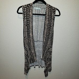 Maurices | geometric sleeveless cardigan